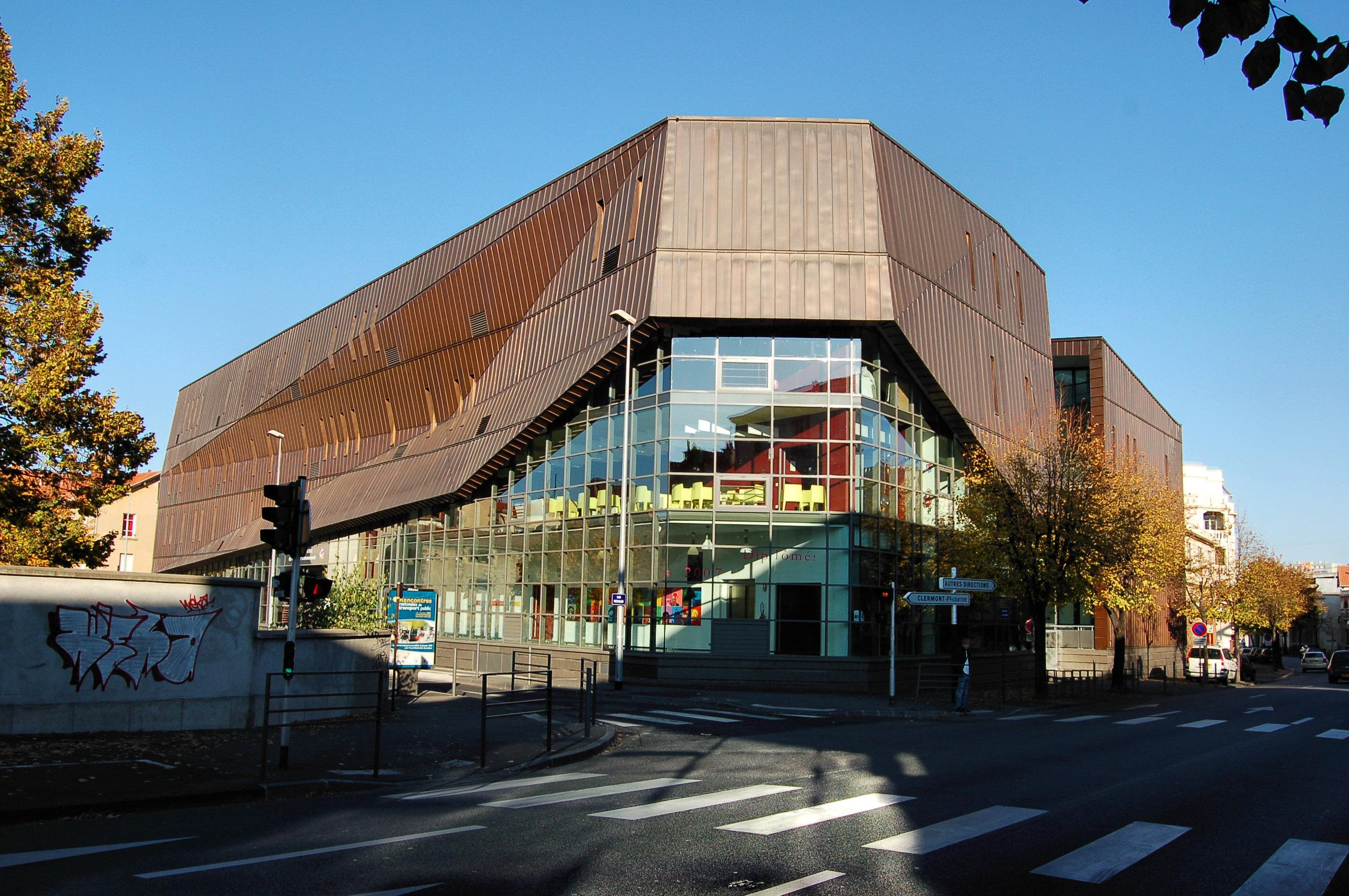 École D Architecture Clermont file:ecole superieure d art clermont co 2 - wikimedia