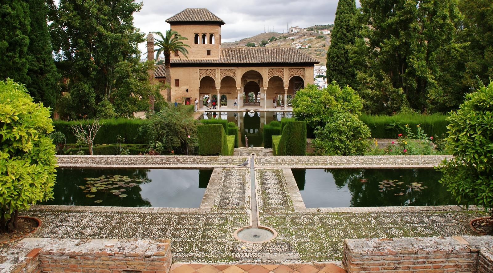 File el partal y jardines la alhambra de granada 08 jpg for Jardines de gomerez granada