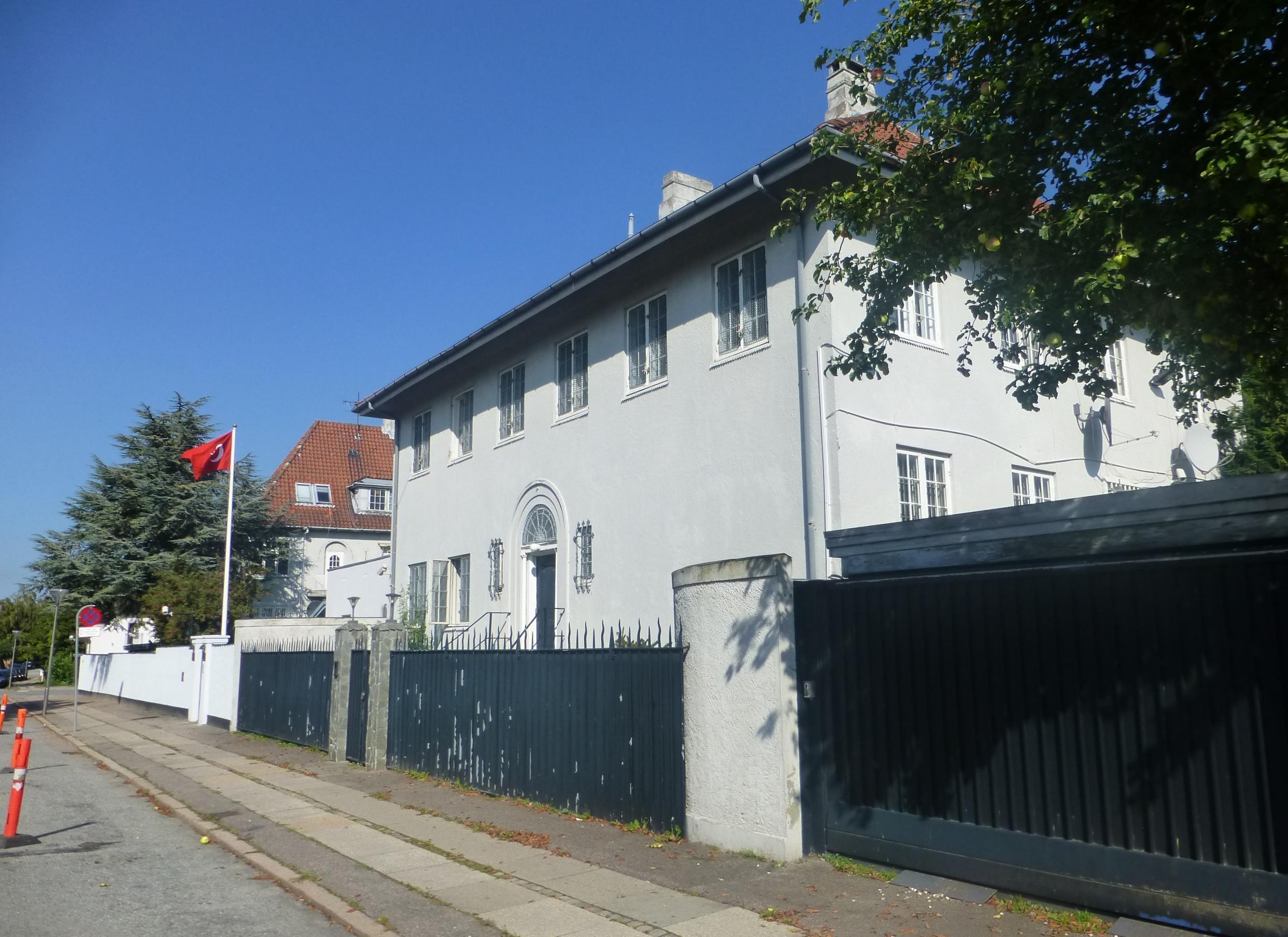 Αποτέλεσμα εικόνας για turkish embassy copenhagen\