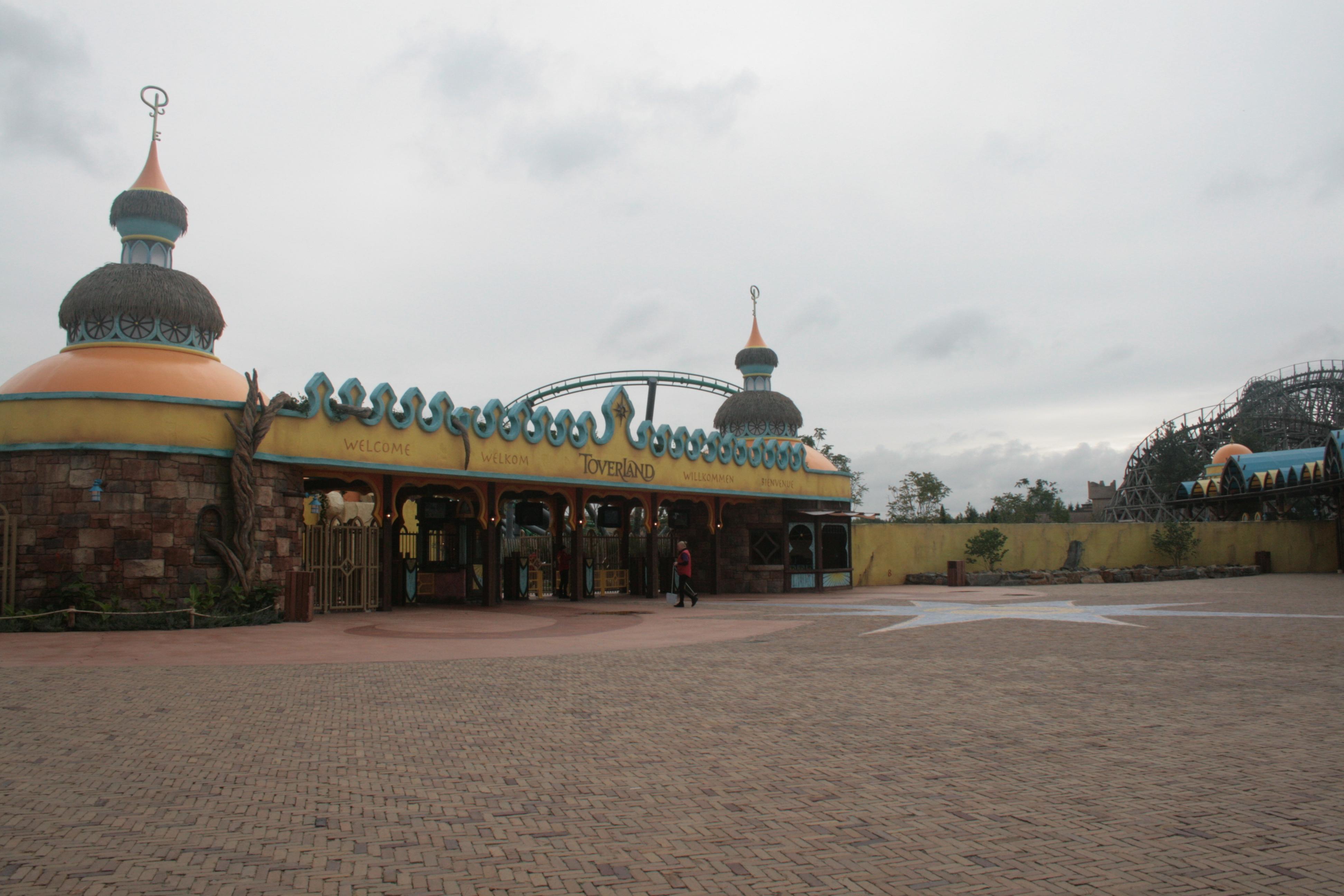 Grote Houten Sterren.Attractiepark Toverland Wikipedia