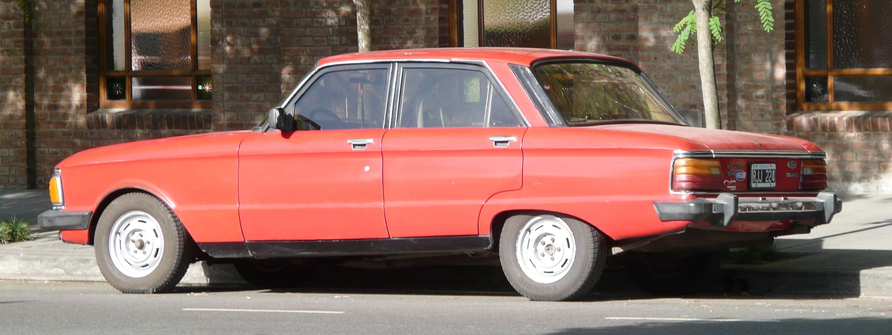 File Ford Falcon Argentina Late Model Red Jpg Wikimedia