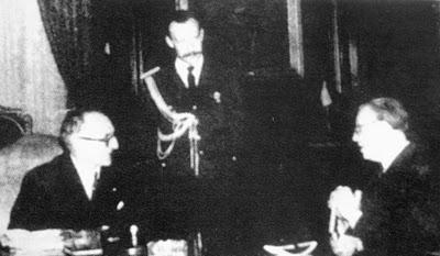 Встреча с президентом Аргентины Артуро Фрондиси, 1958