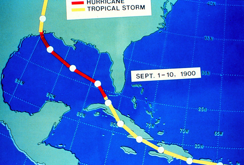 File:Galveston hurricane track, Sept 1-10, 1900.jpg