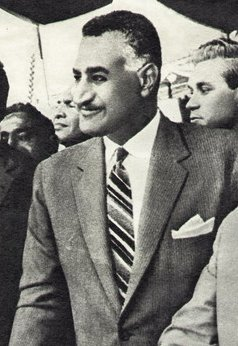 גמאל עבד אל נאצר, שליט מצרים (1954–1970)
