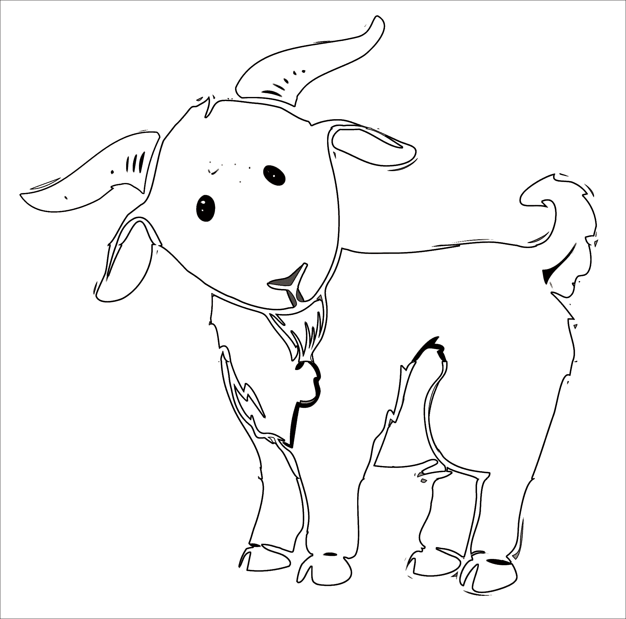 File Goat Cartoon 05 Png Wikimedia Commons