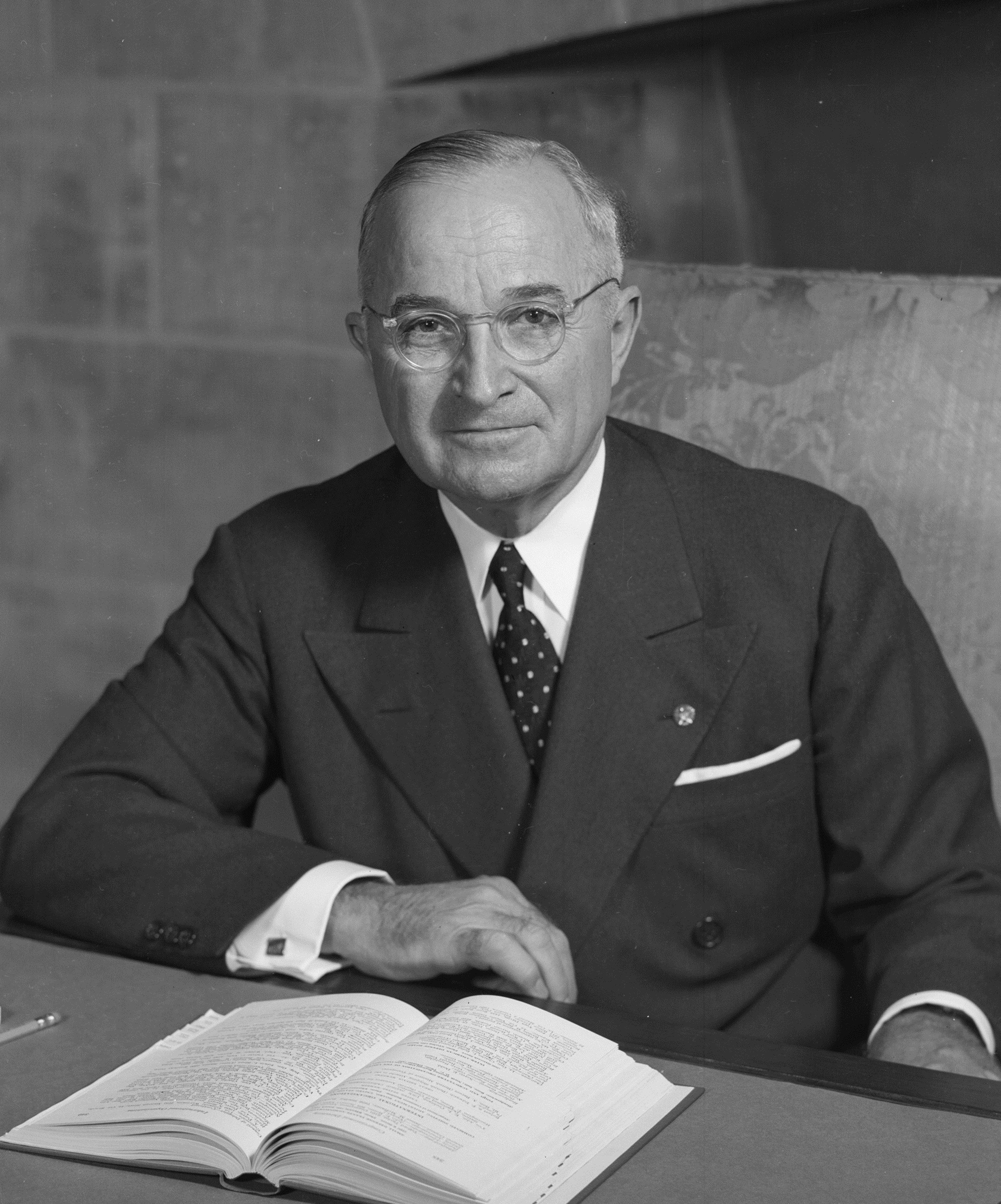 the unexpected decisiveness of harry s truman during his term as the president of the united states Harry truman showed decisiveness and term, fdr saw truman only twice alone during the 82 days of the 44th president of the united states.