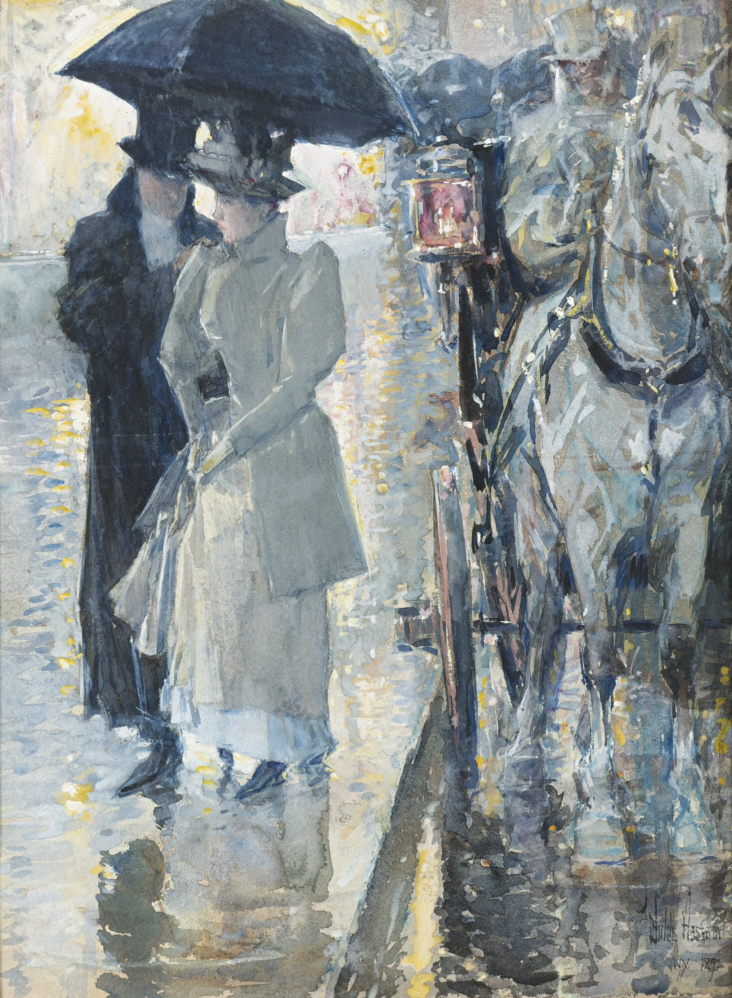 At The Milliner S Painting