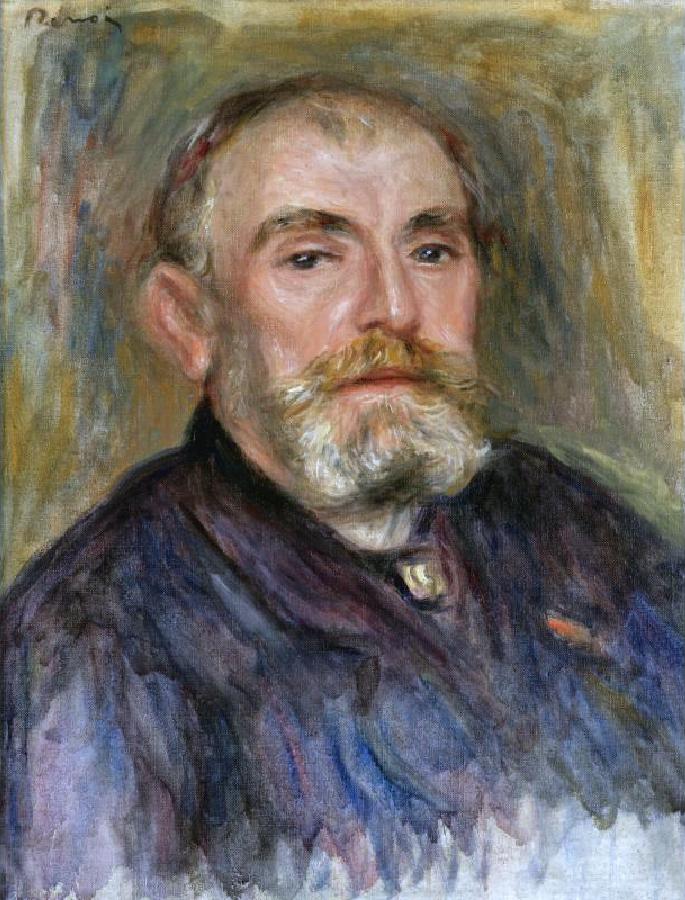 Pierre-Auguste Renoir, Henry Lerolle, 1895.