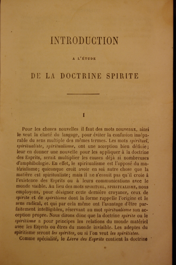Espiritismo 1