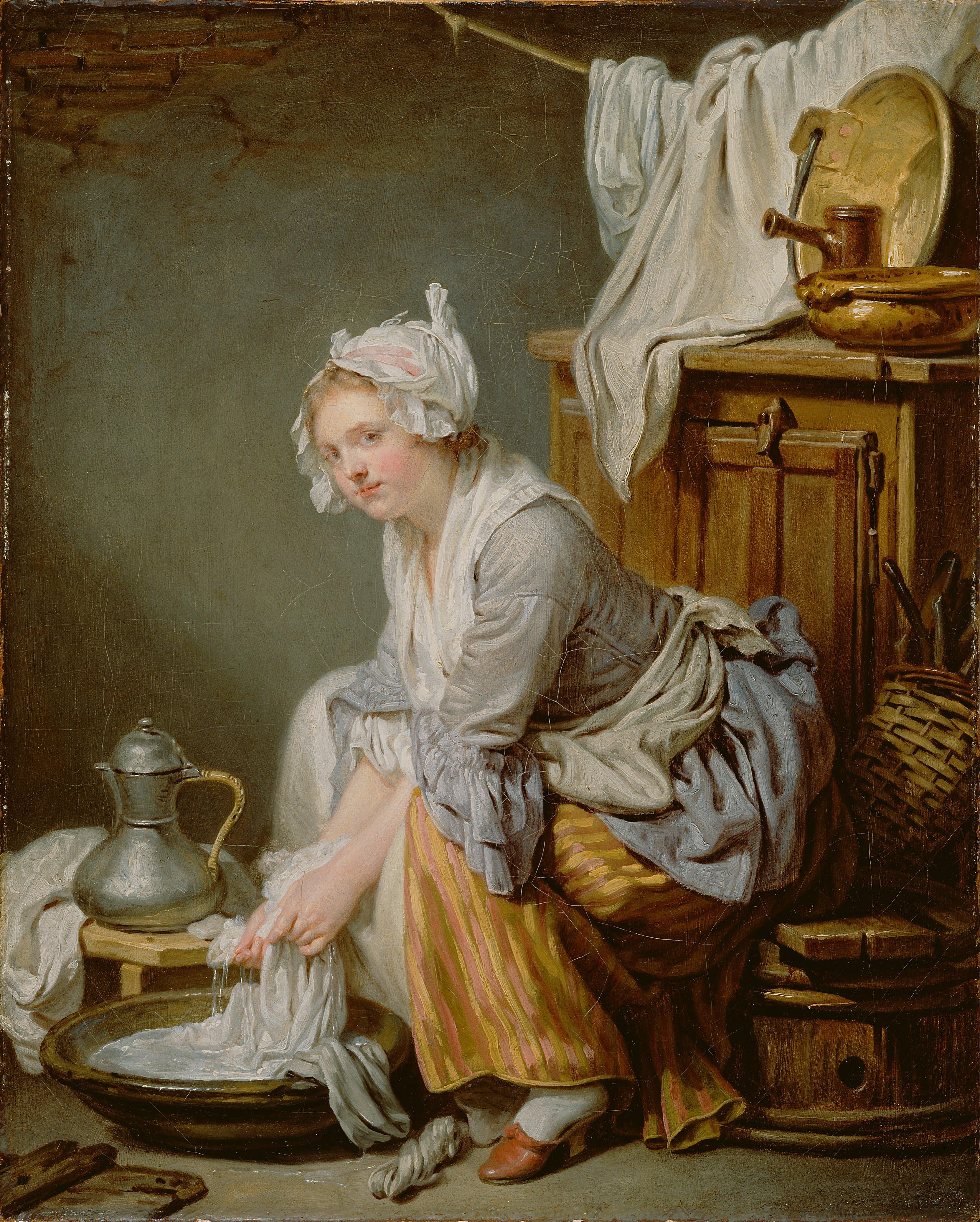 File jean baptiste greuze french the laundress la - 17th century french cuisine ...