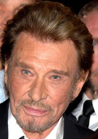 Johnny Hallyday avp 2014
