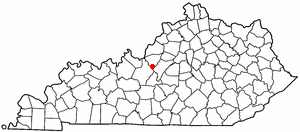 Loko di Lebanon Junction, Kentucky