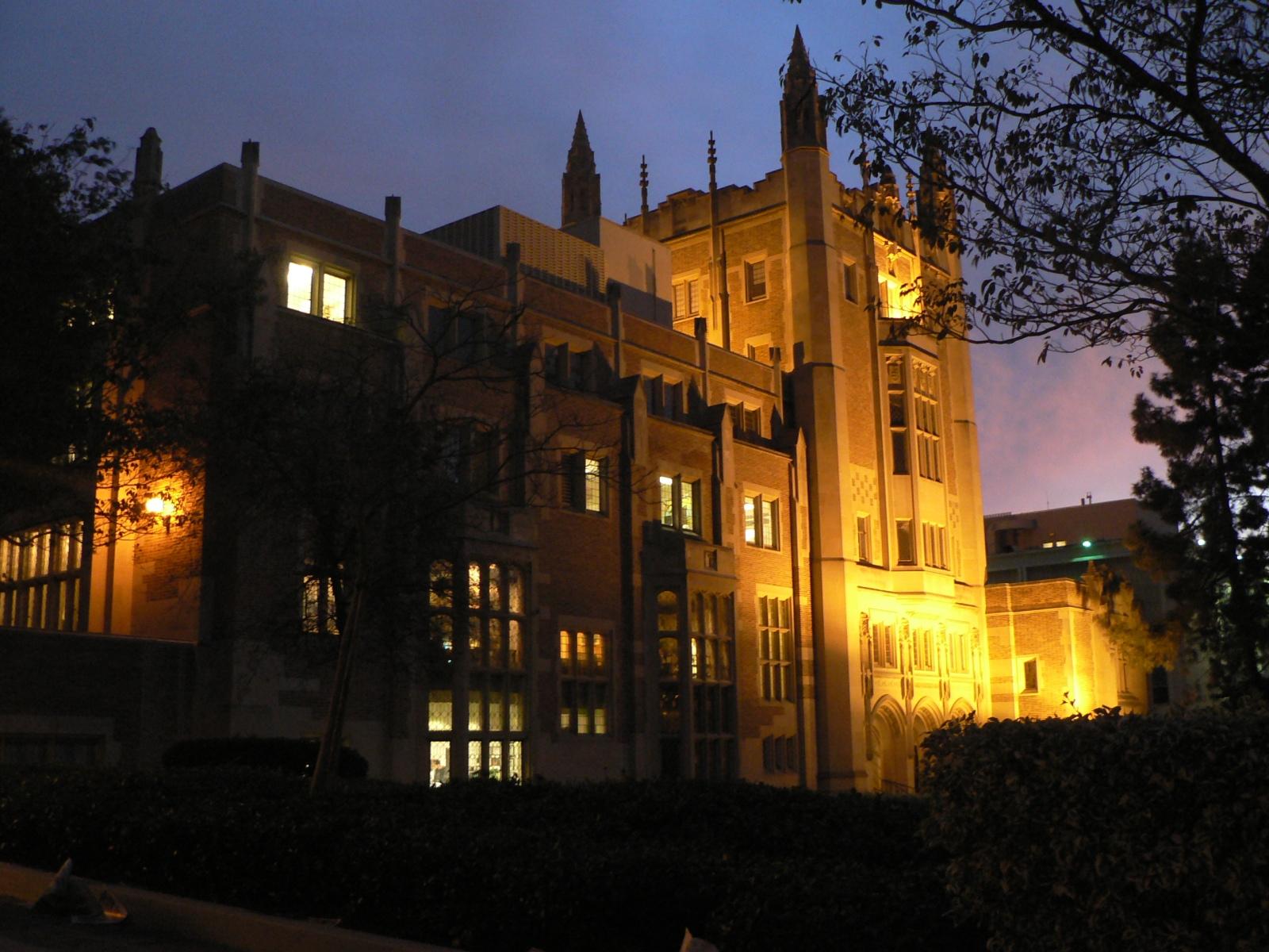 ucla campus at night - photo #14