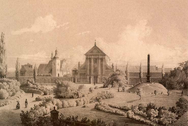 File:Kościół XX. Kapucynów i pomnik Unii Lubelskiej w Lublinie, Adam Lerue.jpg