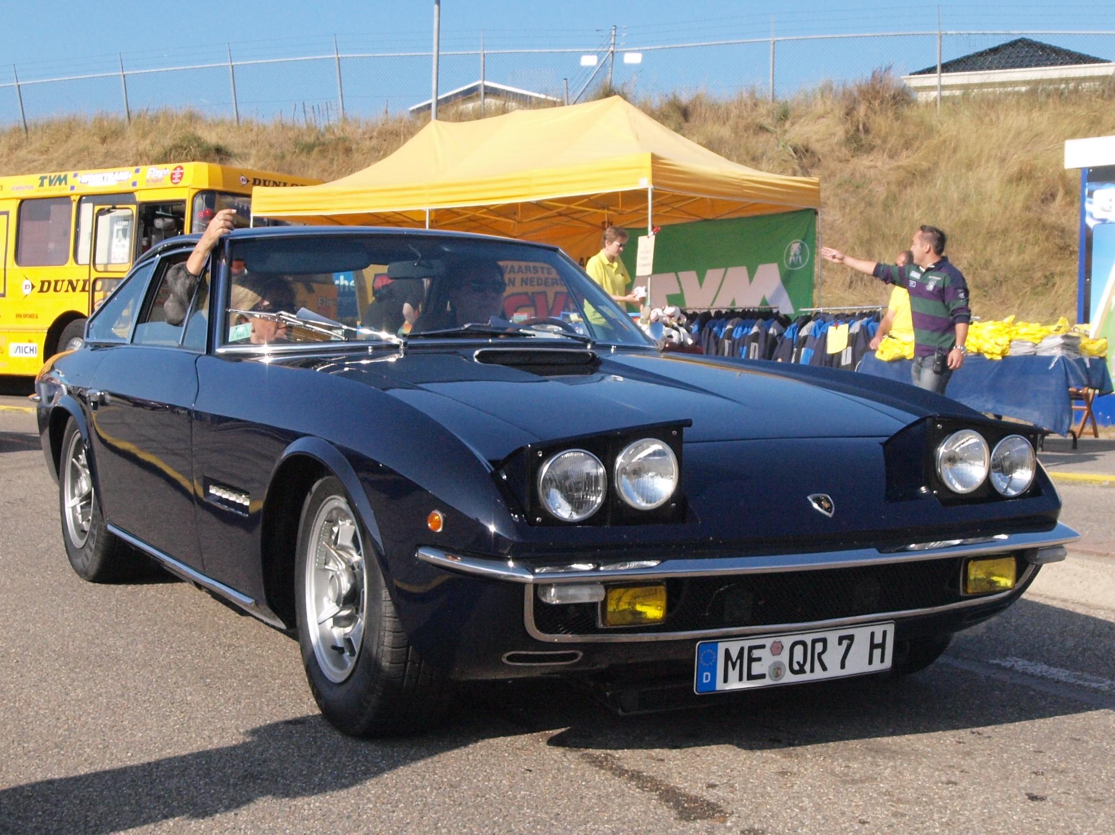 File Lamborghini Islero German Licence Registration Me Qr
