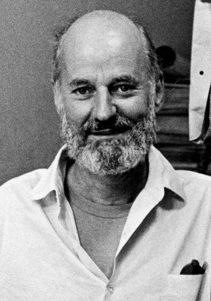 Black and white photograph of Lawrence Ferlinghetti in 1965