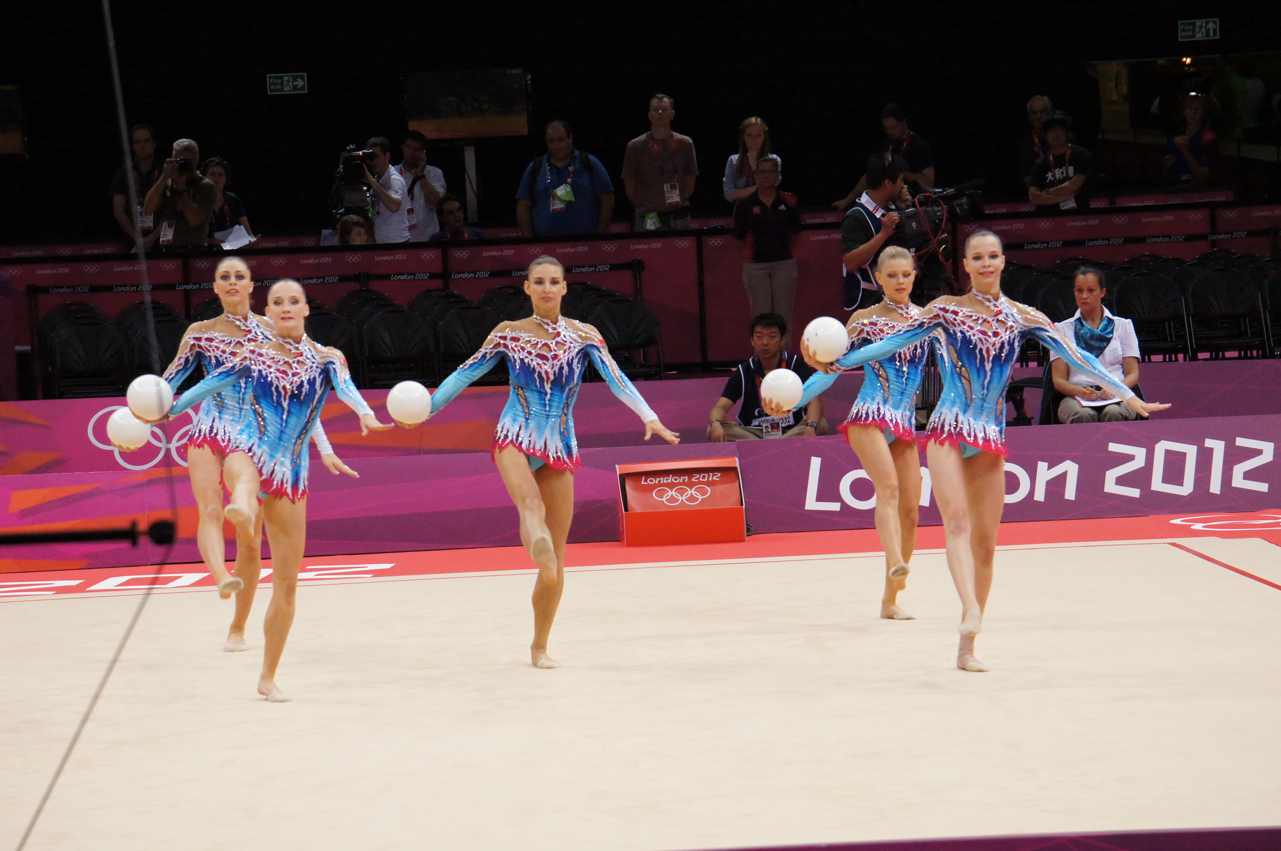 File:London 2012 Rhythmic Gymnastics - Team Belarus.jpg ...