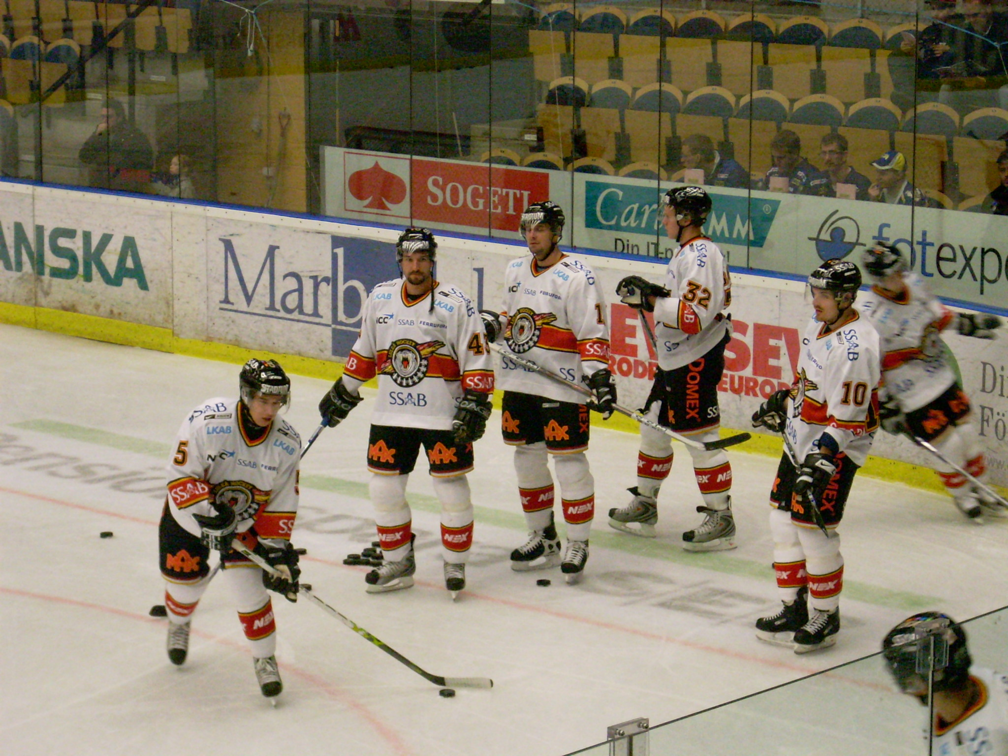 Notisplank för Luleå Hockey Luleå_Hockey_Kinnarps