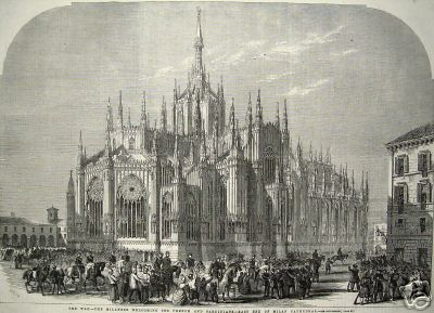 File Mi 1859 East End Of Milan Cathedral Italy Issued In 1859 For The Illustrated London News Jpg Wikimedia Commons