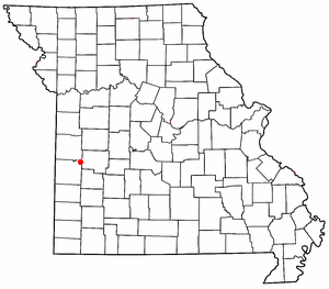 Loko di Schell City, Missouri