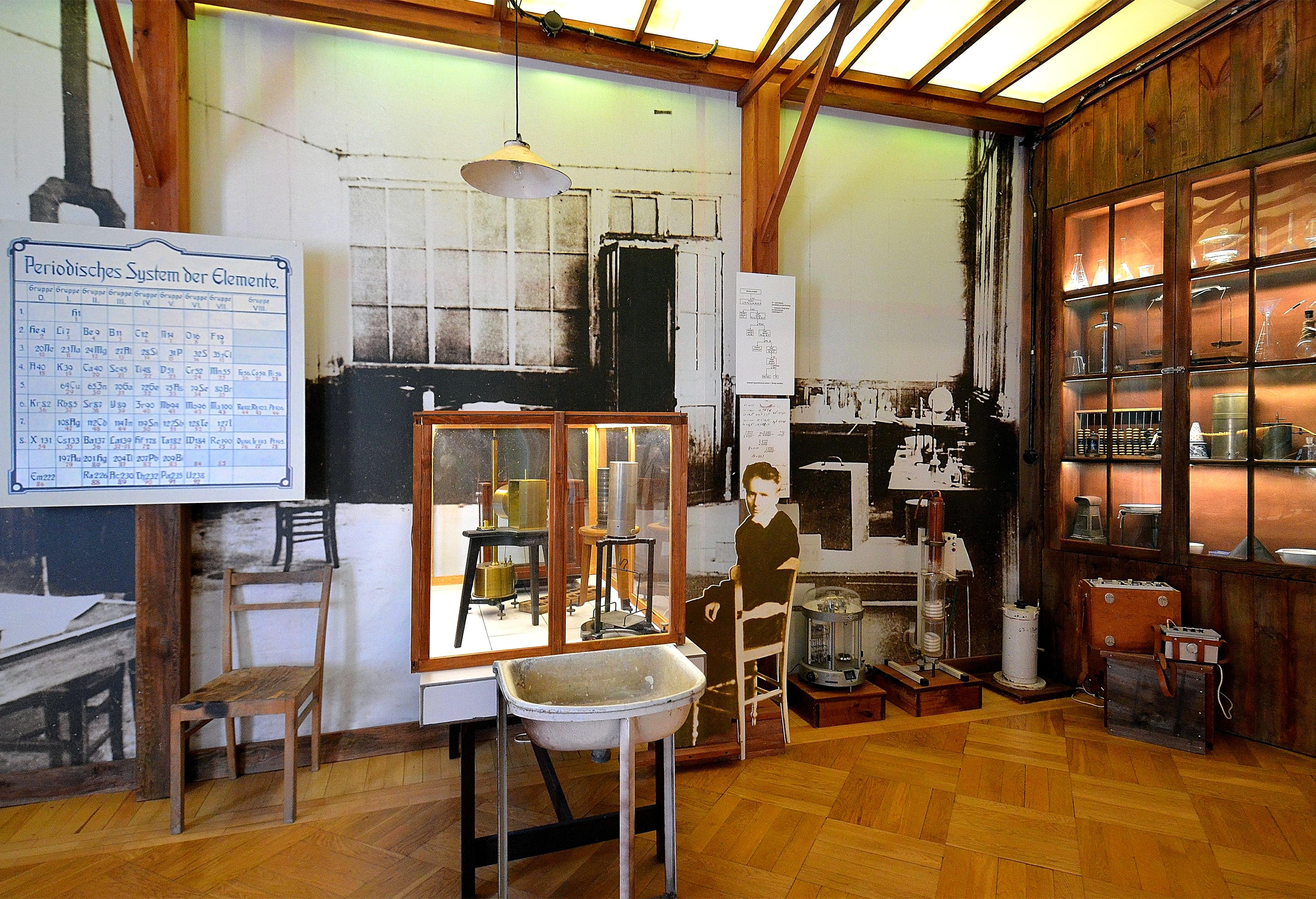 Madame curie museum