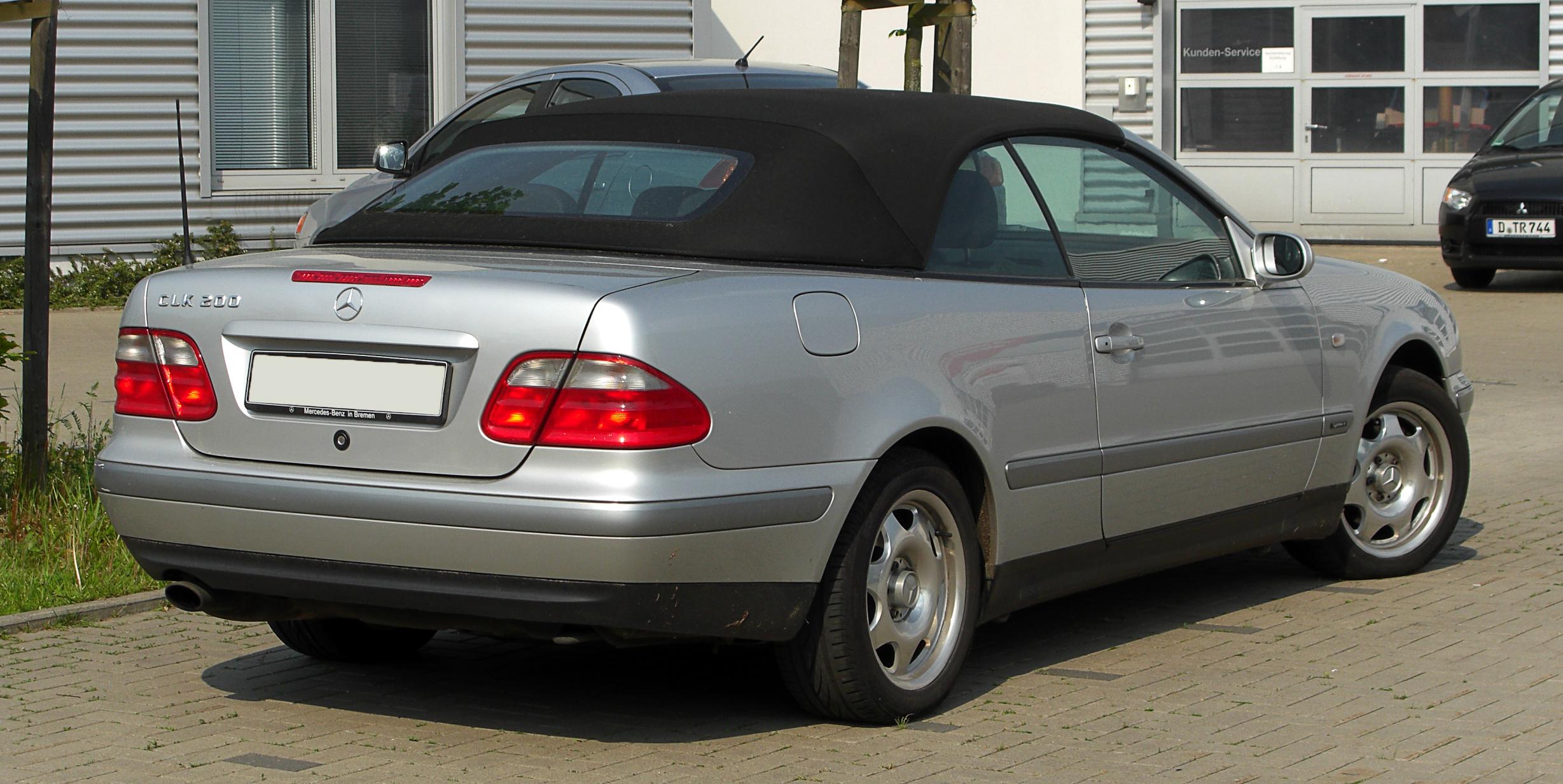 File Mercedes Benz Clk 200 Cabriolet Sport A 208