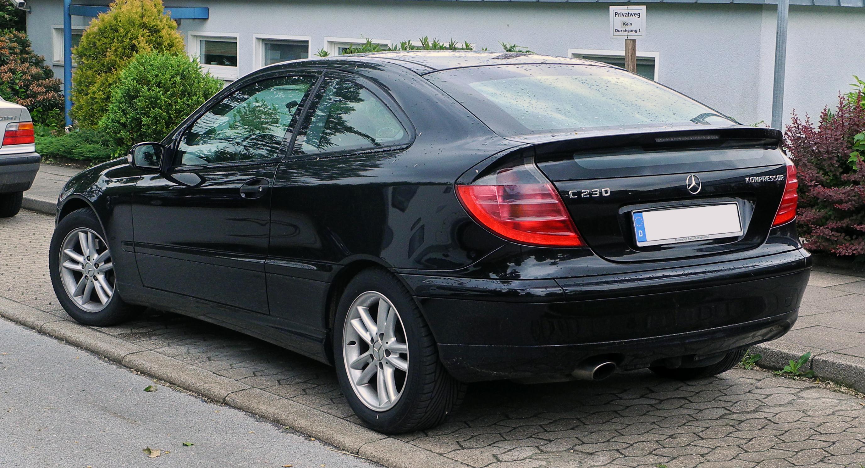 Mercedes C Klasse Sportcoupe Cl