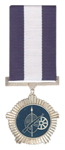 Merit Medal in Silver