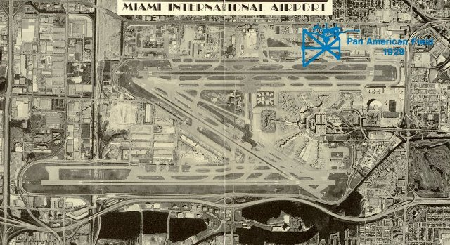 Empty Tower At Miami International Airport Catches Fire