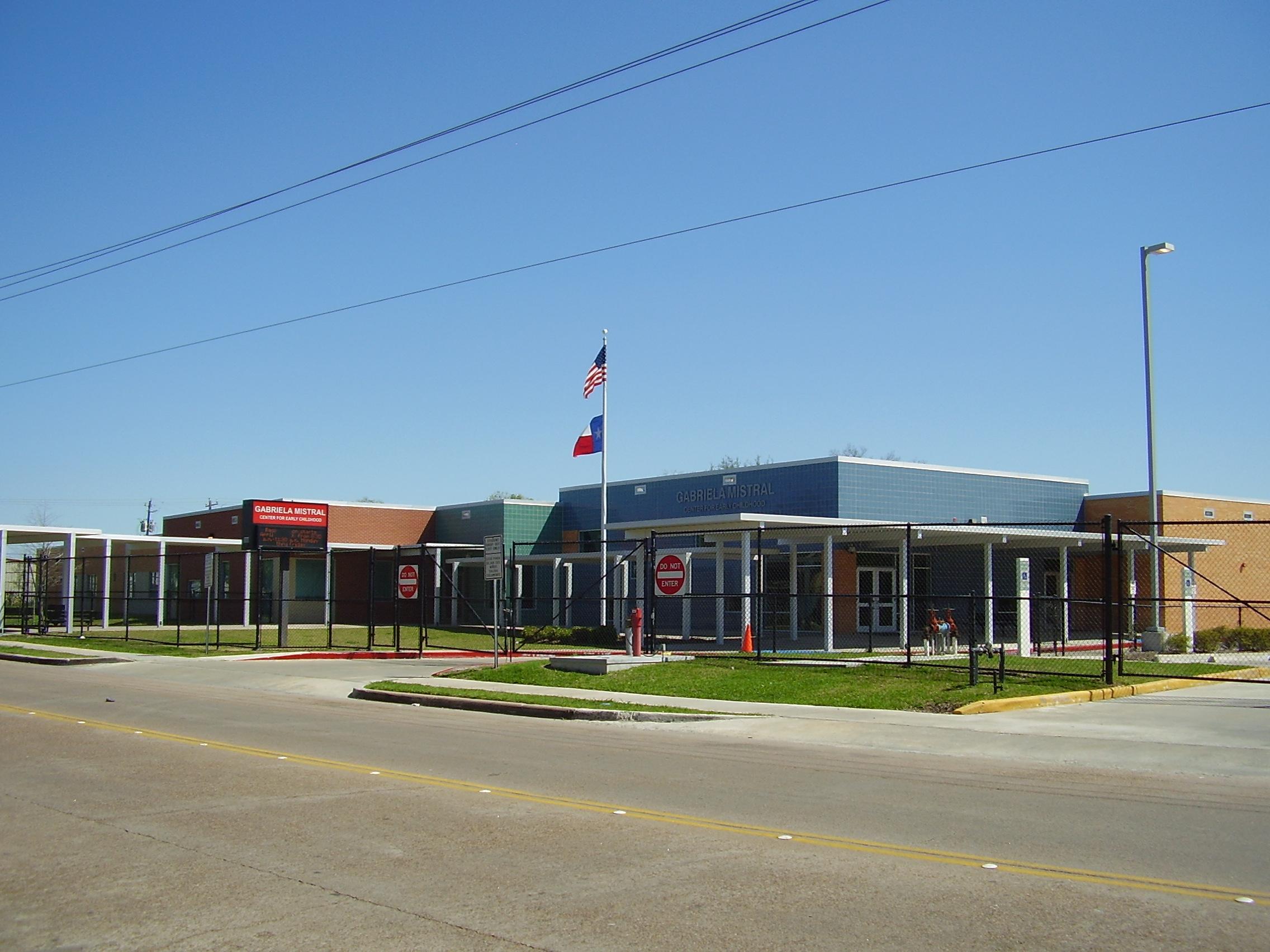 Centro prescolar Gabriela Mistral en Houston, Estados Unidos.