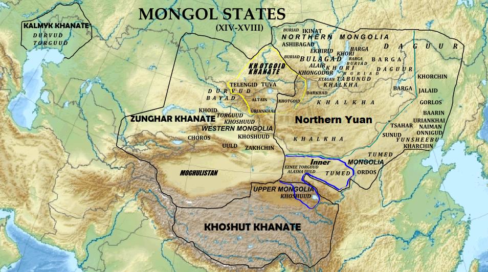 Kalmyk Khanate - Wikipedia