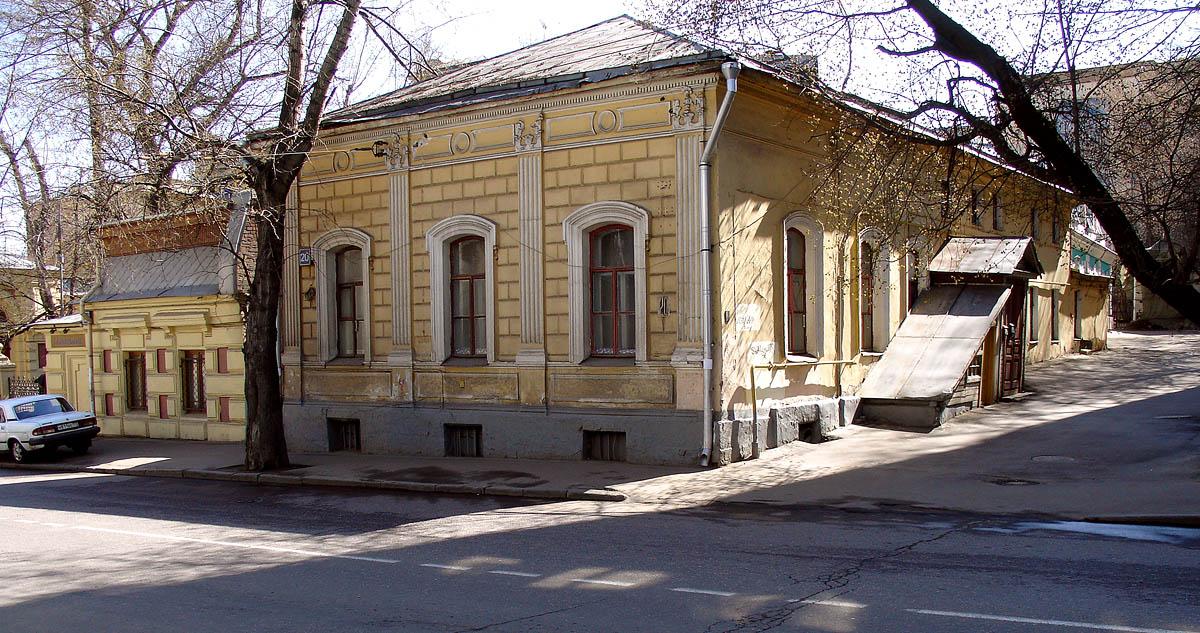 house at 20 Novaia Basmannaia