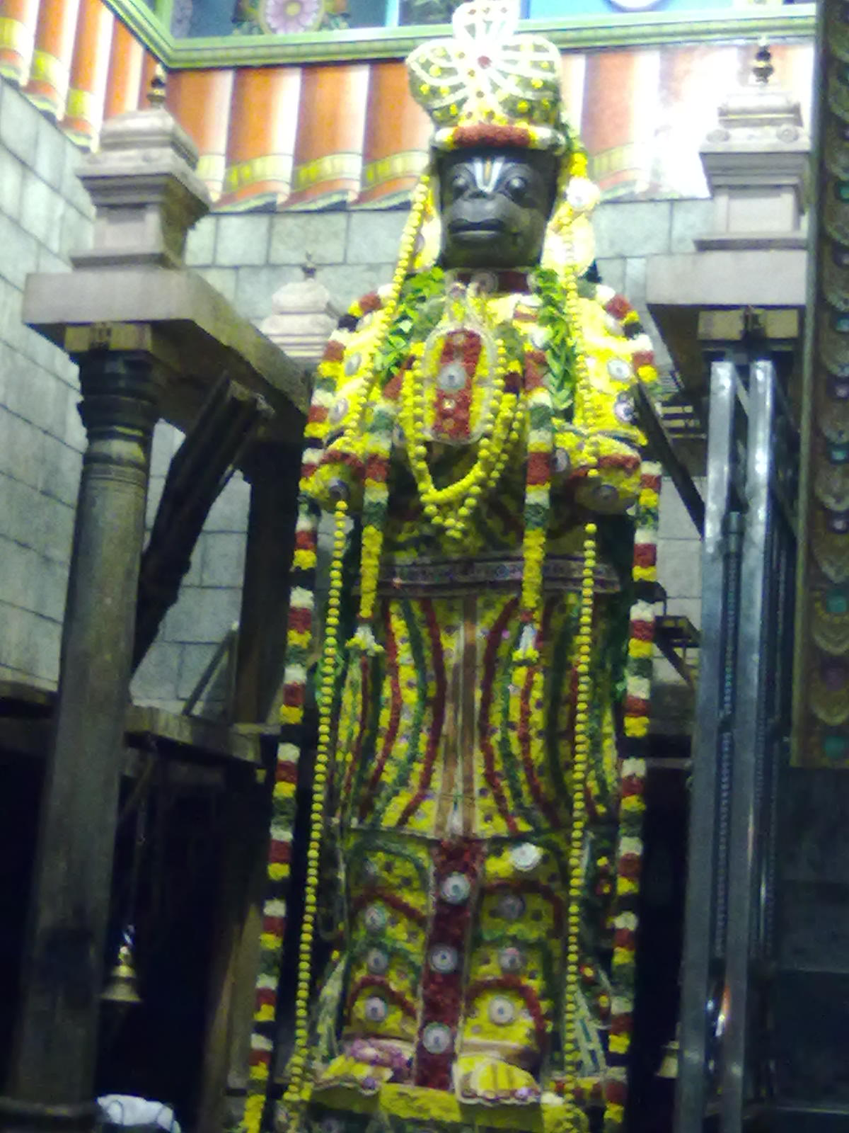 Namakkal Anjaneyar Temple - Wikipedia