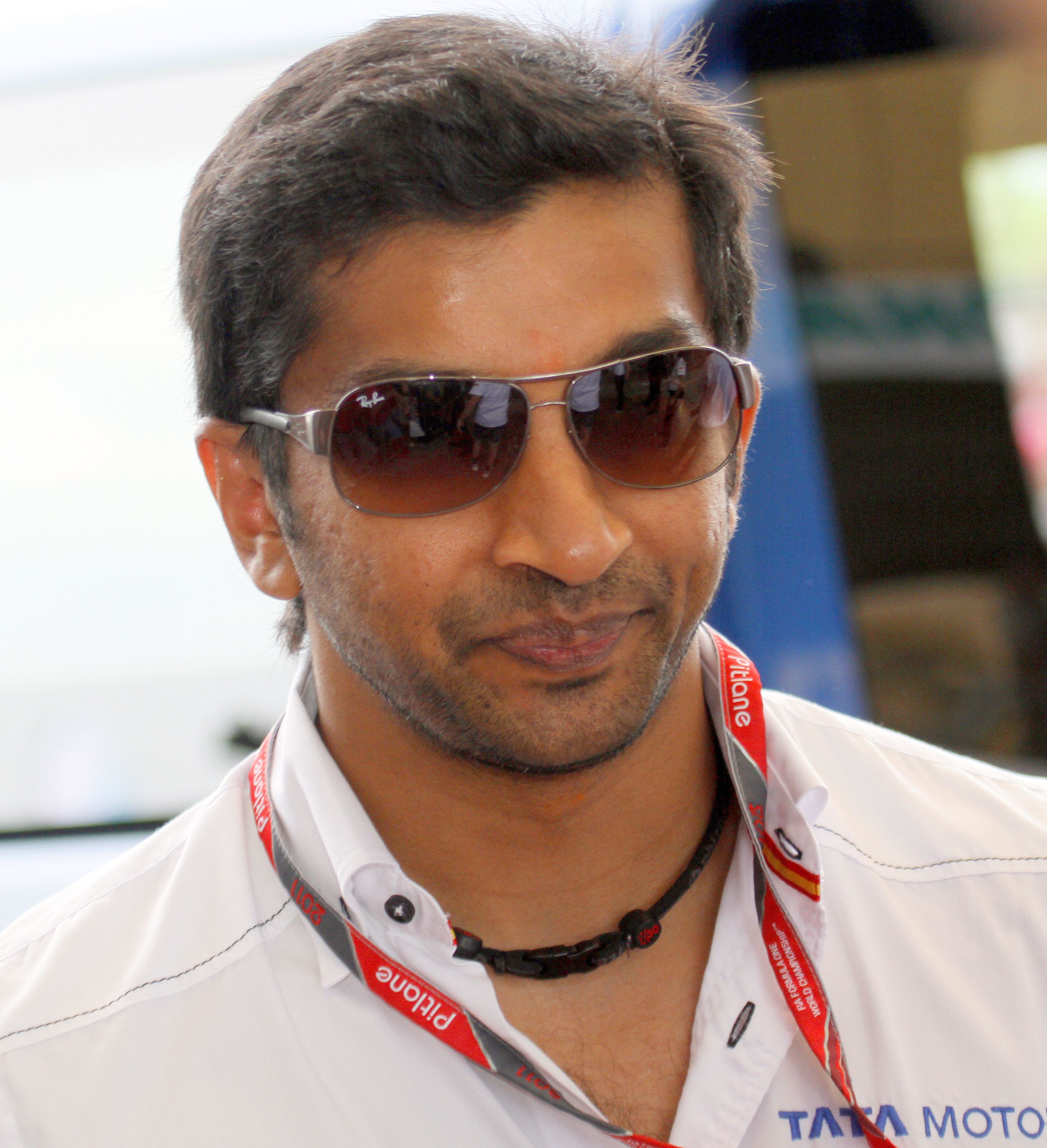 The 41-year old son of father (?) and mother(?) Narain Karthikeyan in 2018 photo. Narain Karthikeyan earned a  million dollar salary - leaving the net worth at 2 million in 2018