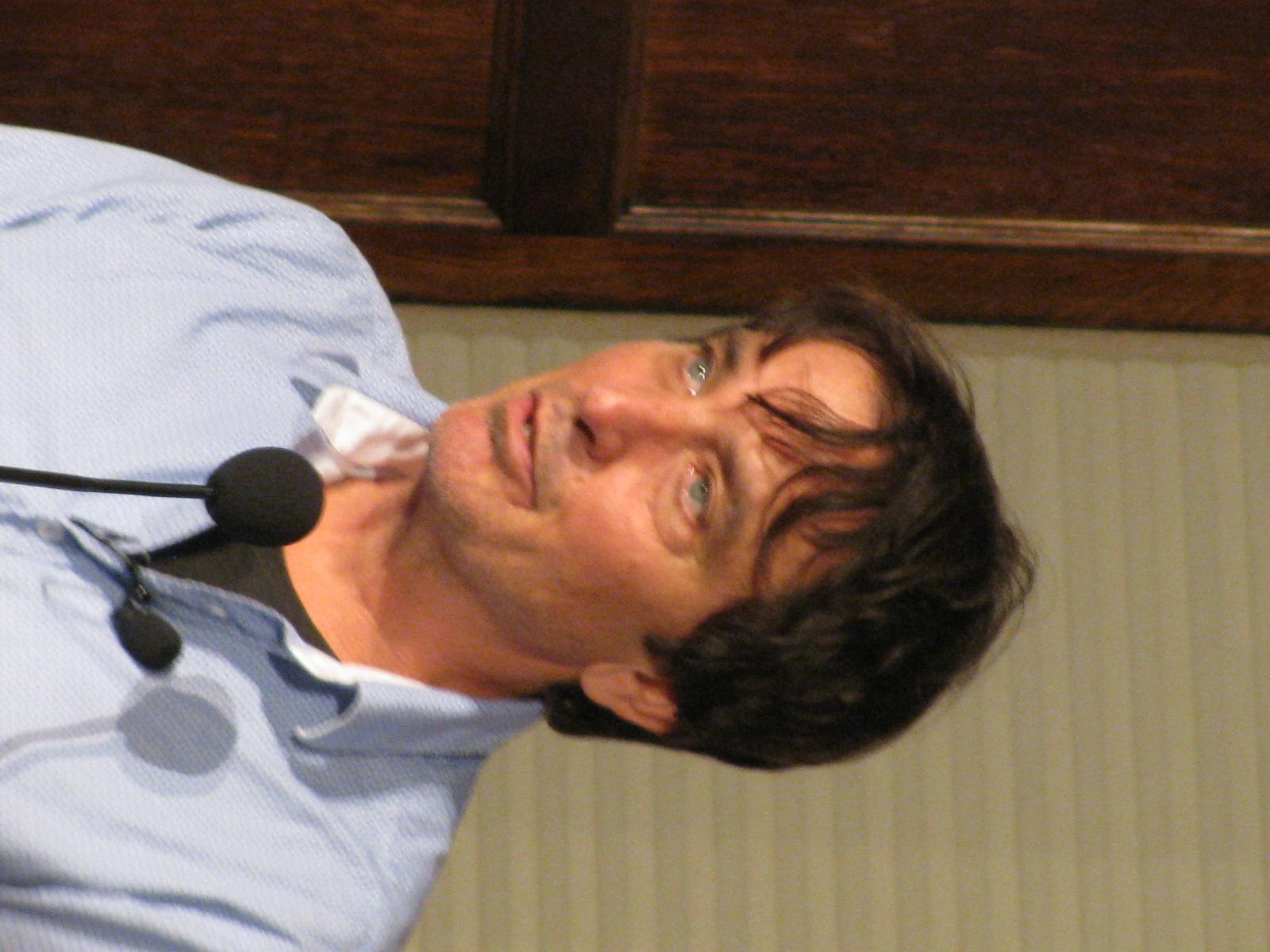 Flynn at Lannan Poetry Series