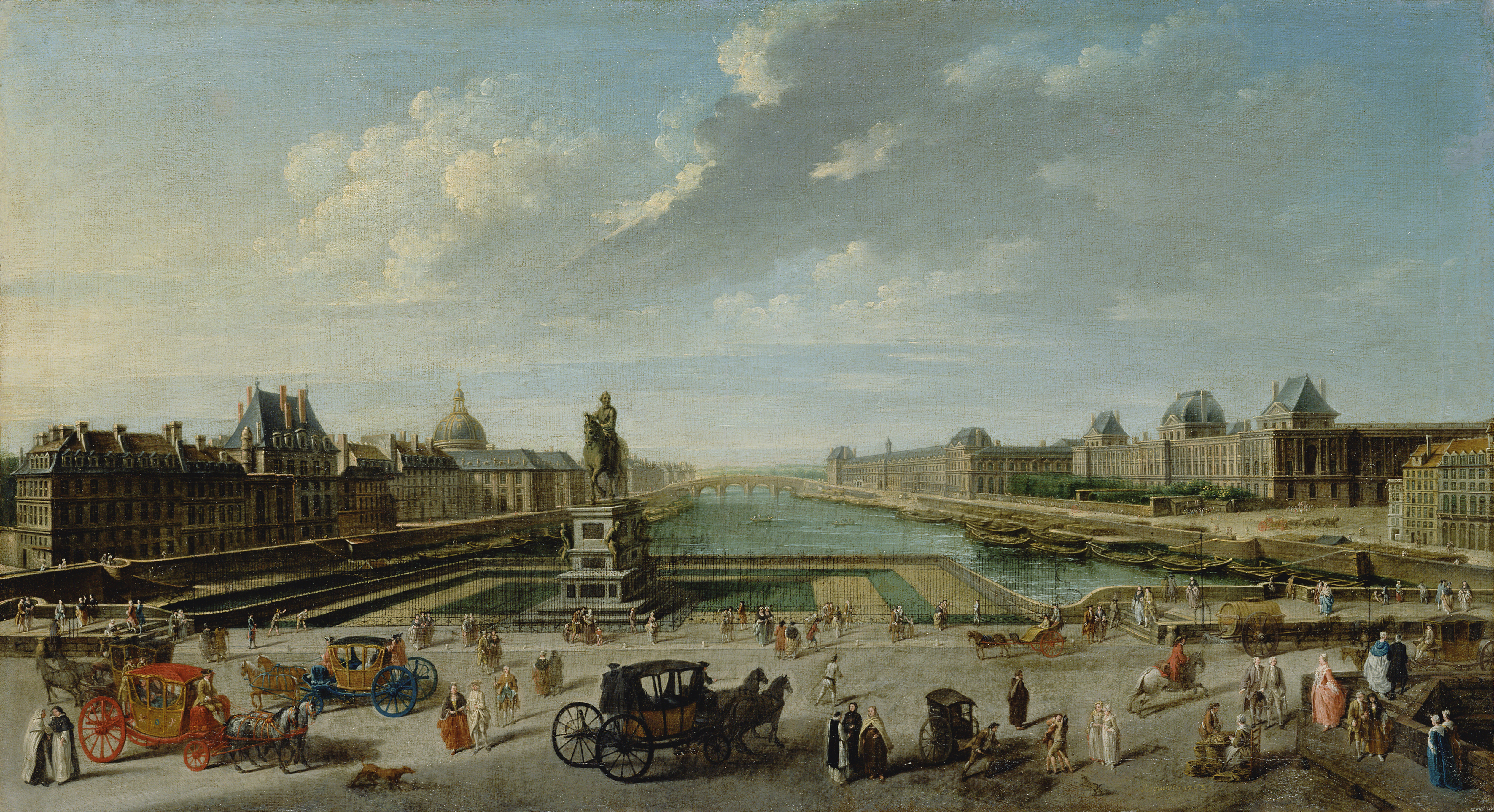 https://upload.wikimedia.org/wikipedia/commons/a/a6/Nicolas-Jean-Baptiste_Raguenet%2C_A_View_of_Paris_from_the_Pont_Neuf_-_Getty_Museum.jpg