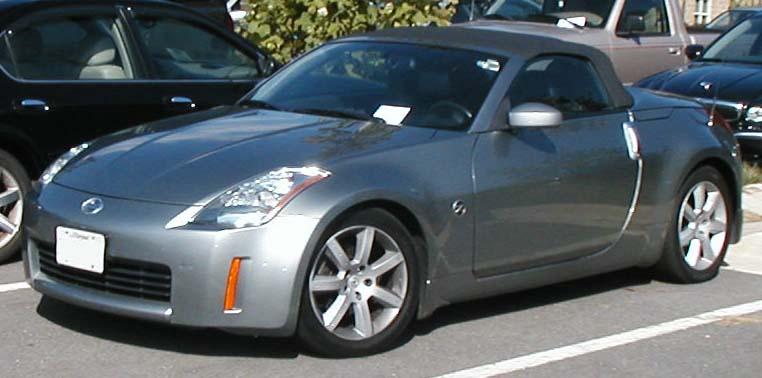File Nissan 350z Convertible Jpg Wikimedia Commons