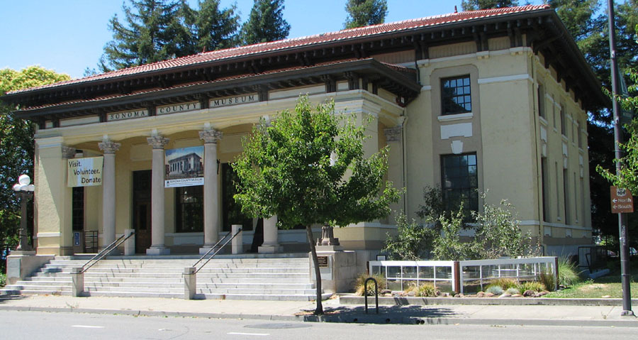 Old Post Office Santa Rosa Ca Now Sonoma County Museum