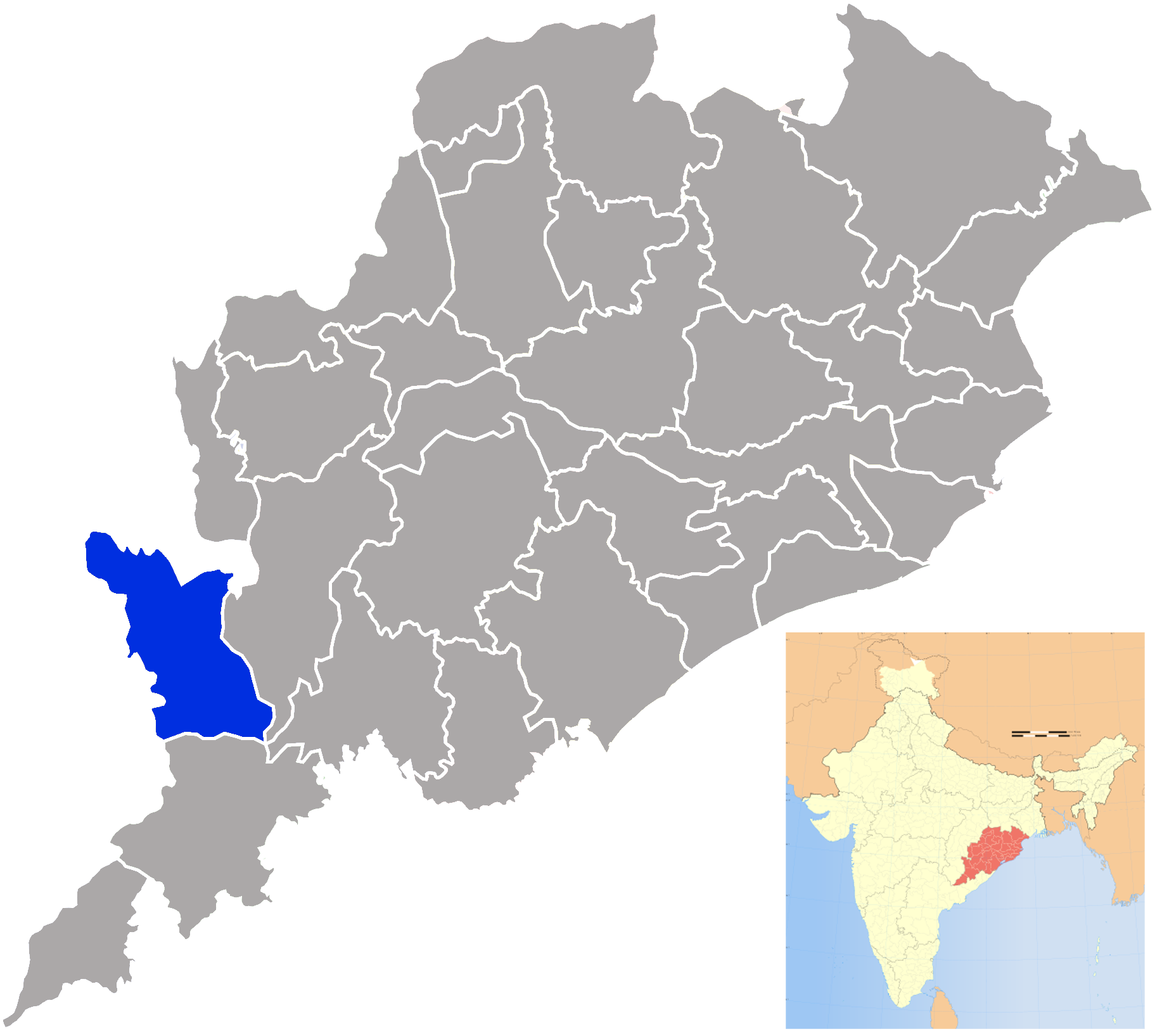 Nabarangpur district - Wikipedia