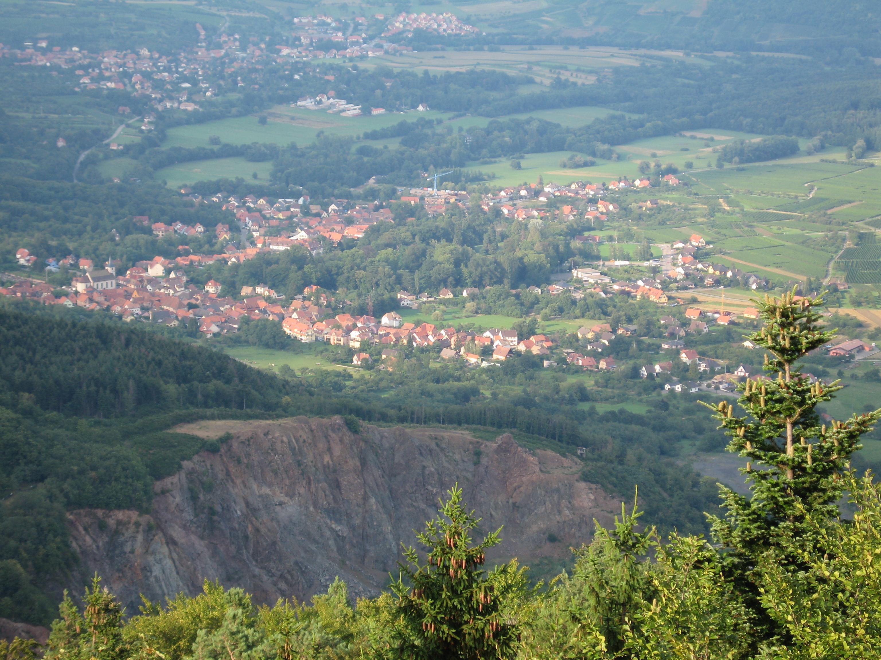 Carte Klingenthal Alsace.Ottrott Wikipedia