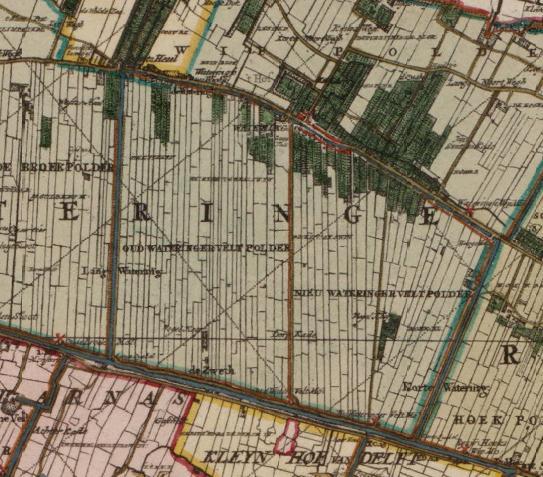 Description oud en nieuw wateringveldsche polder 1712 jpg