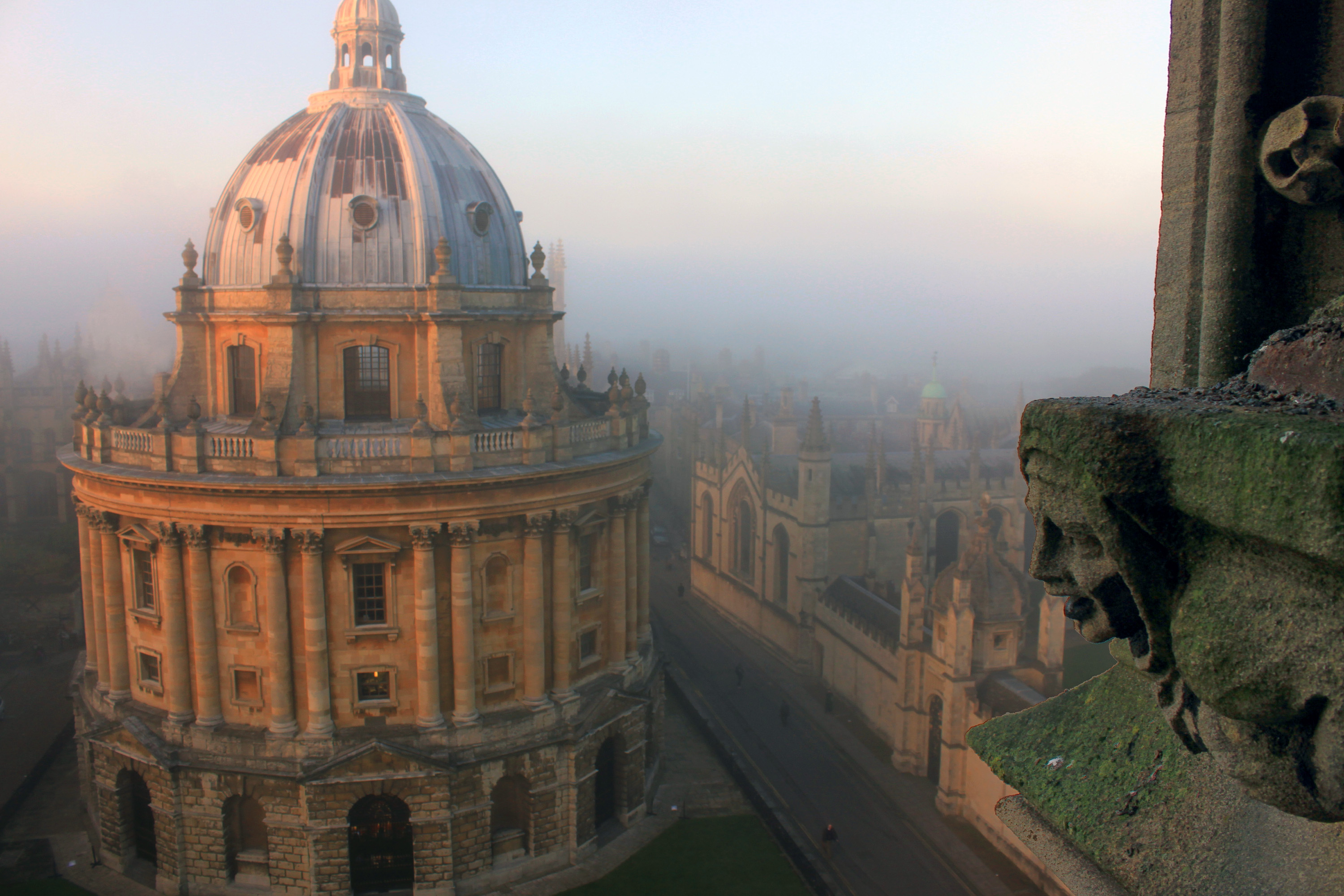 File:Oxford University, Radcliffe Camera, a Reading room of