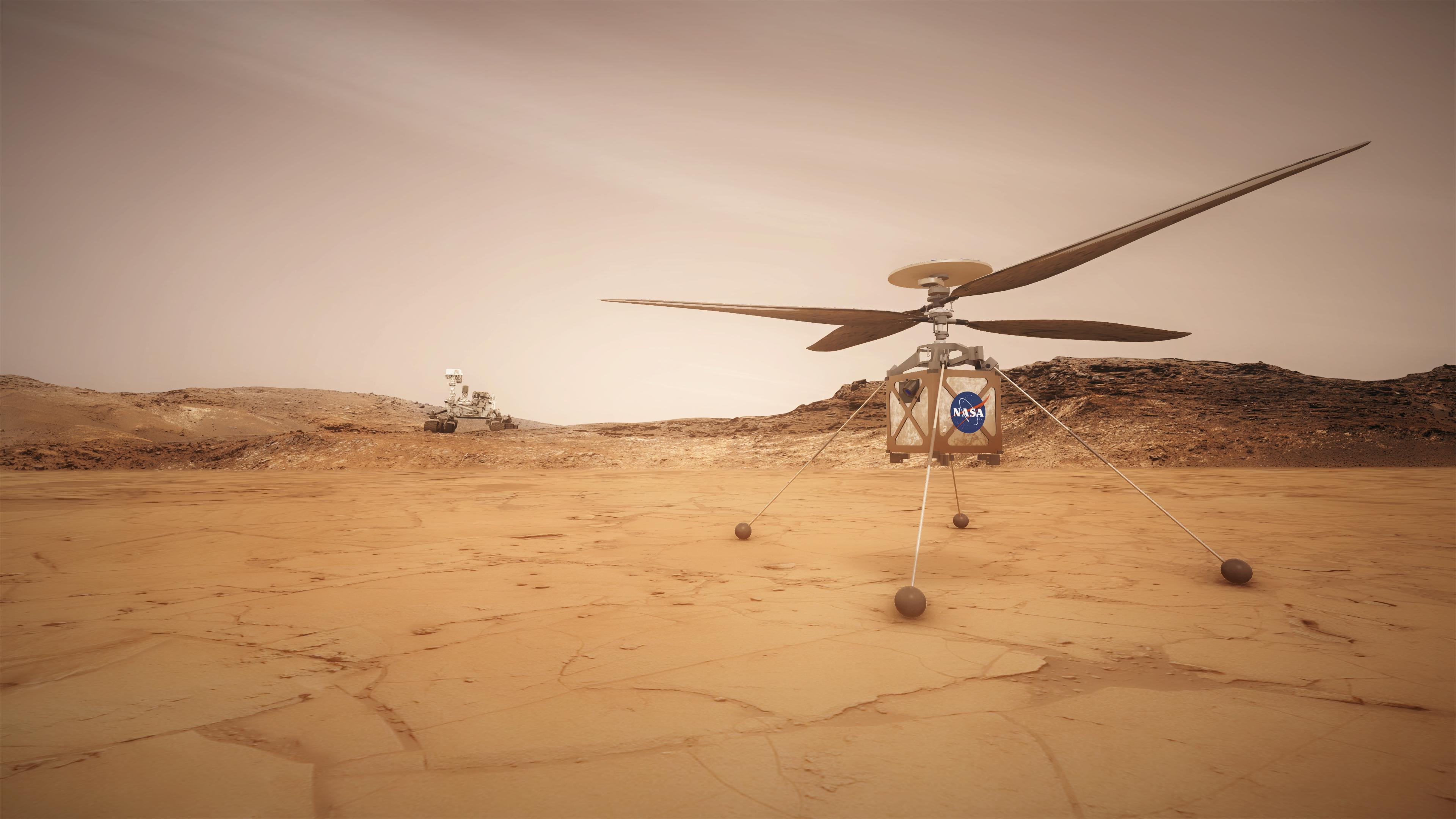 JPL Mars Helicopter Scout - Wikipedia