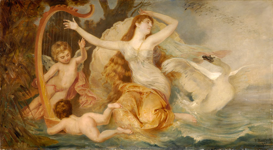 zeus seduction of leda in the poem leda and the swan by william butler yeats