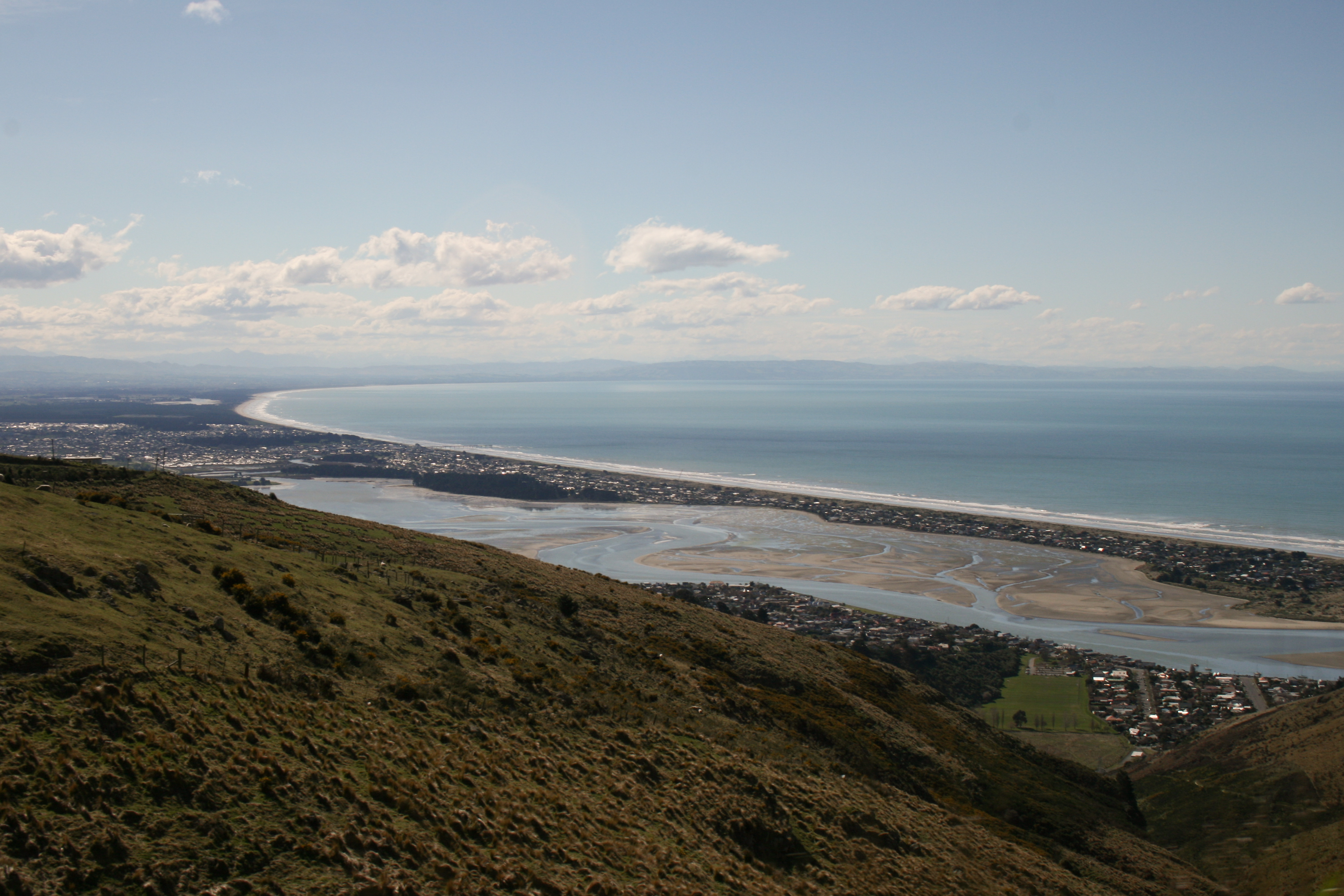 pegasus bay, with new brighton the spit in the foreground.jpg