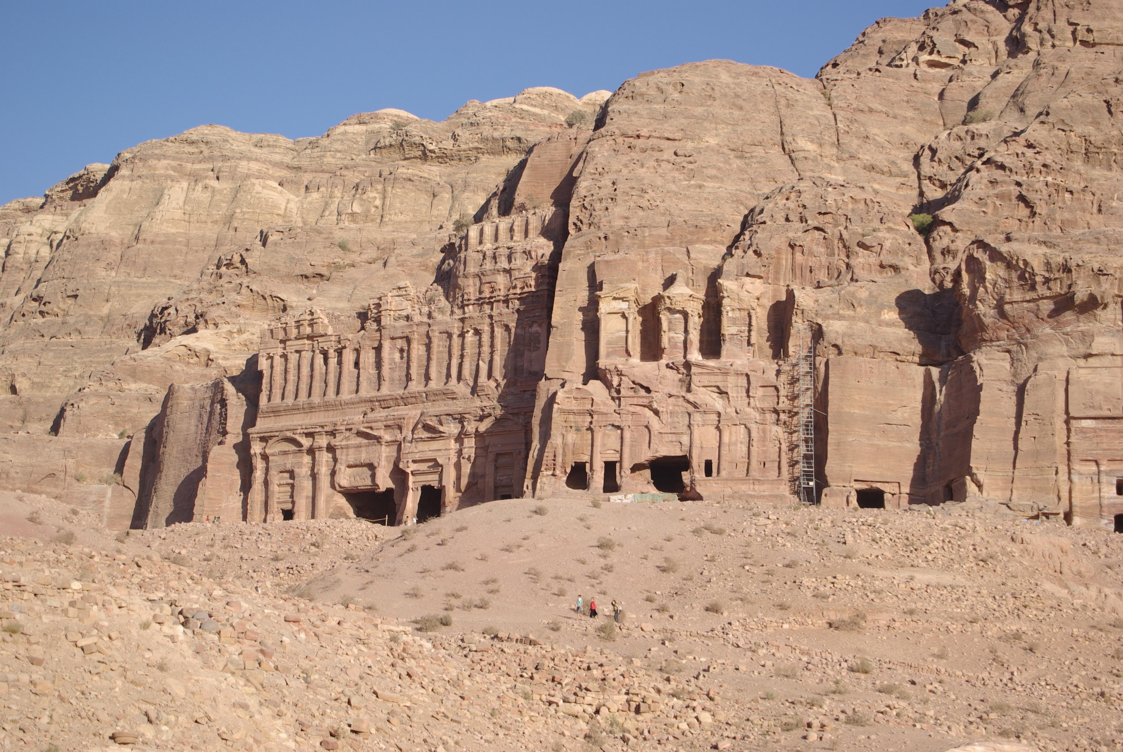 Petra Jordan  city photos : ملف:Petra Jordan BW 40