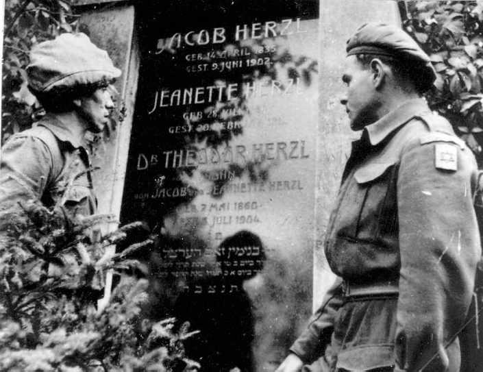 קברו של הרצל בוינה