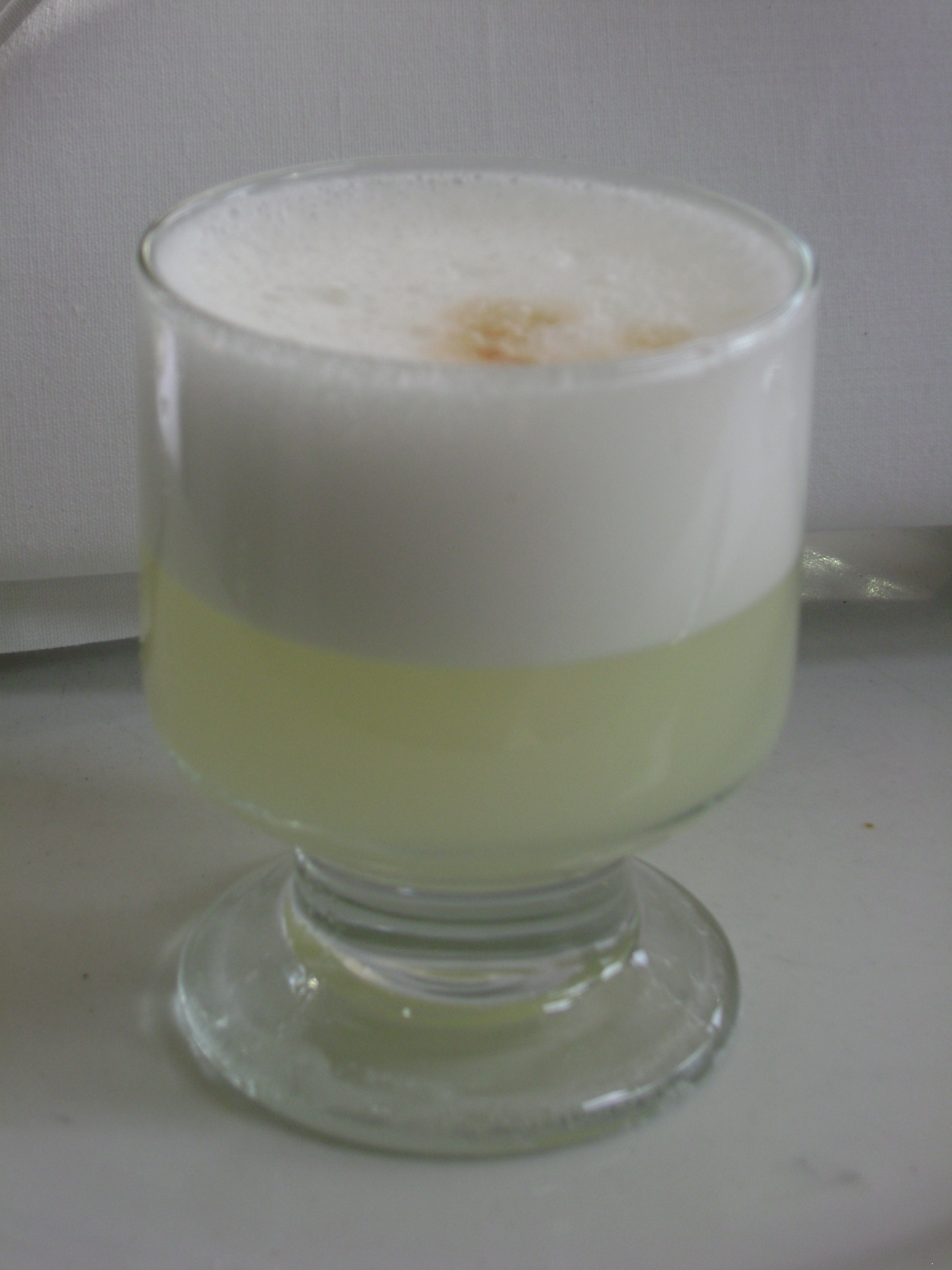 Peruvian drink Pisco Sour recipe
