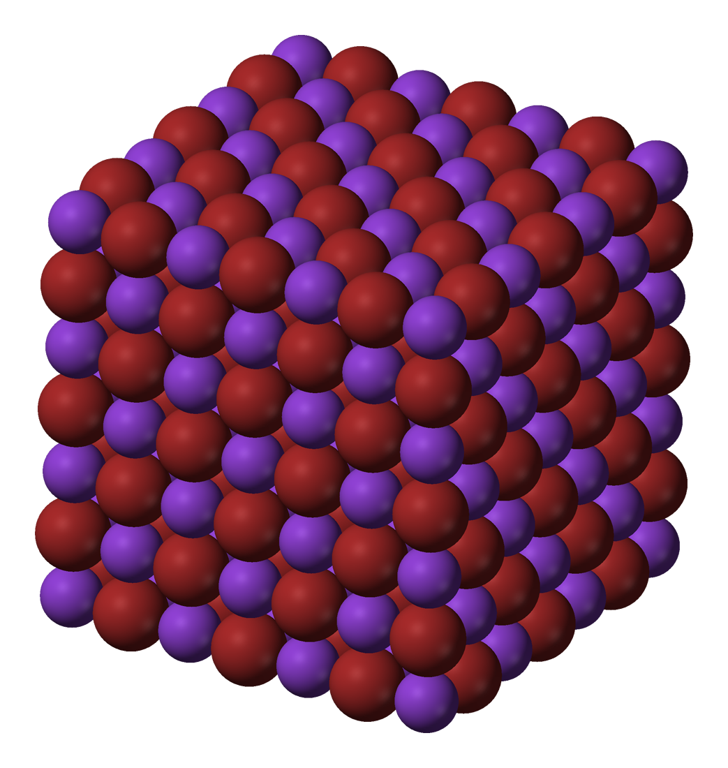 Potassium bromide molecular structure? | Yahoo Answers
