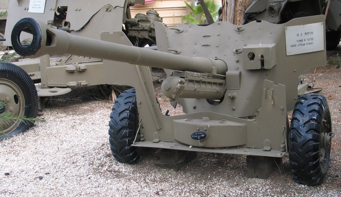 German 50 Mm Anti Tank Gun: Ordnance QF 6-pounder